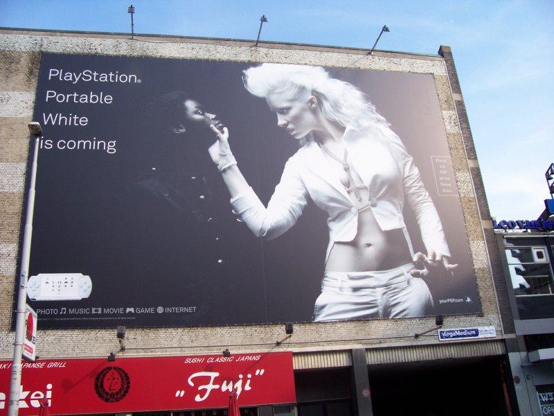 Sony PlayStation Werbung Niederlande